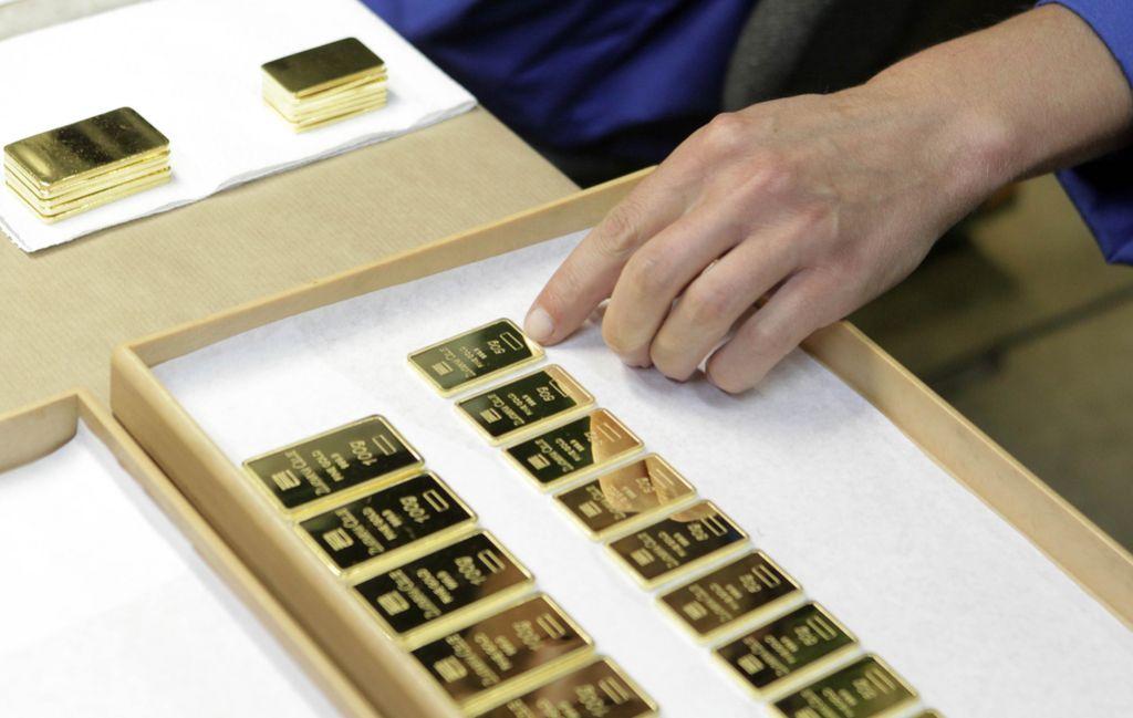 Zlati kovanci za darila, ploščice za naložbe
