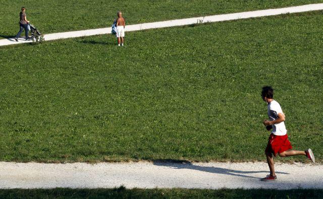 Slovenija.Ljubljana.28.09.2011 Tivoli.Foto:Matej Druznik/DELO