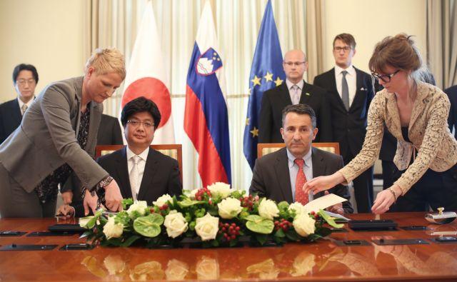 Pogodba Tomaž Klemenc in Hiroši Kunijoši
