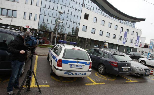 Policijska preiskava na HSE v Ljubljani, 20. novembra 2013