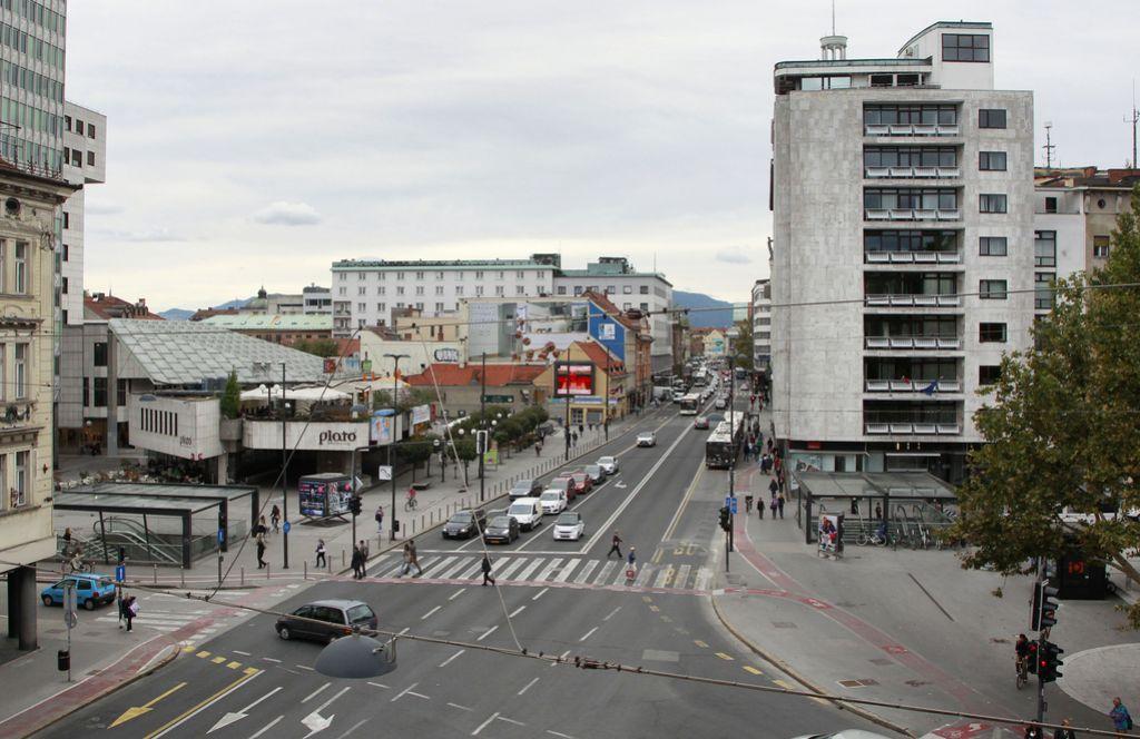 Osrednji del Slovenske odprt za del prometa