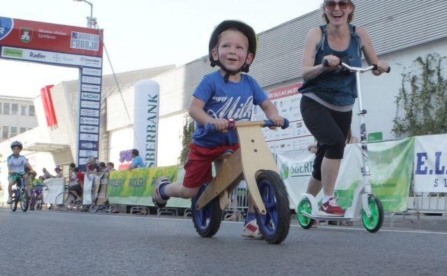 Otroški maraton . Ljubljana, 07.06.2014
