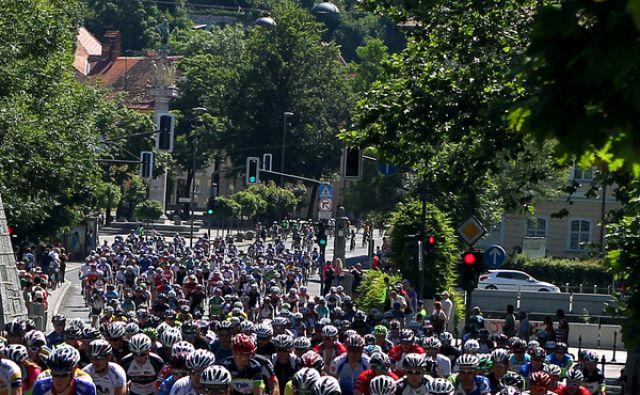 Maraton Franja skozi Ljubljano 08.junija 2014