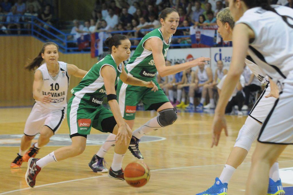 Košarka: Slovenke odlično začele kvalifikacije za EP