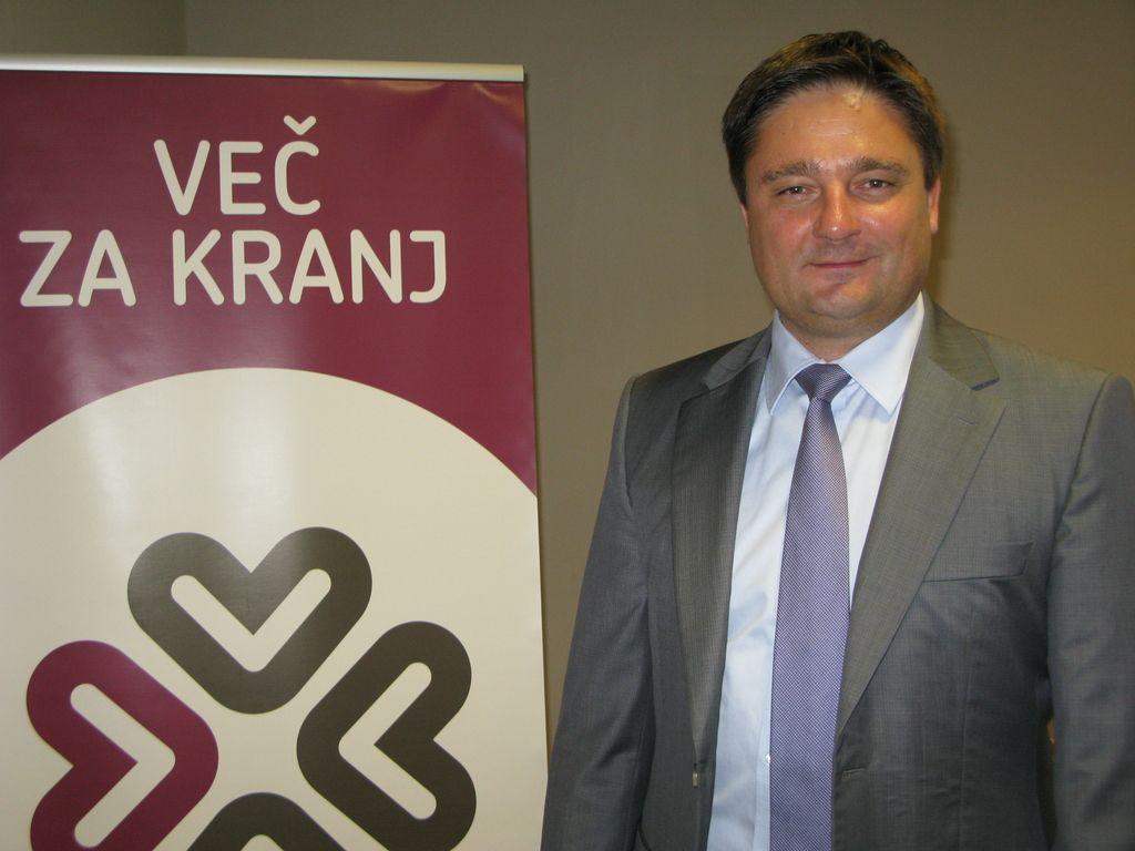 Boštjan Trilar najavil kandidaturo za župana v Kranju