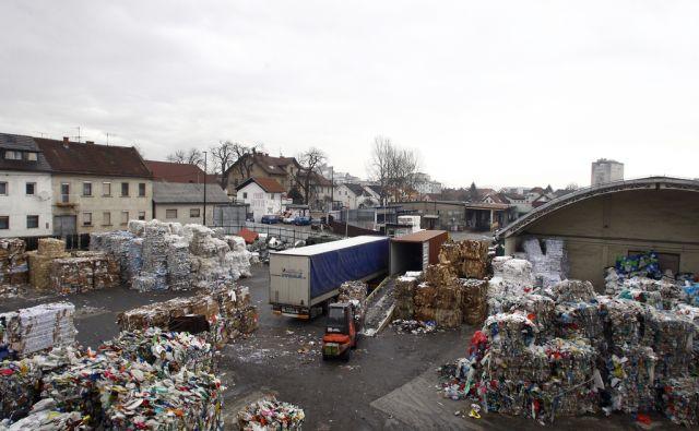 LJUBLJANA 05.02. 2013 Družba za ravnanje z odpadki. Pod ježami 3. Foto: ALESS CCERNIVEC/Delo