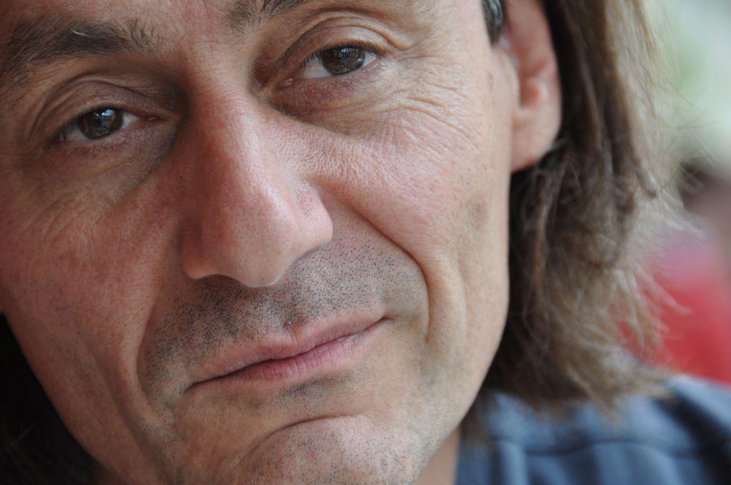 Samo M. Strelec, režiser, ki bo zaradi gradu kandidiral za župana