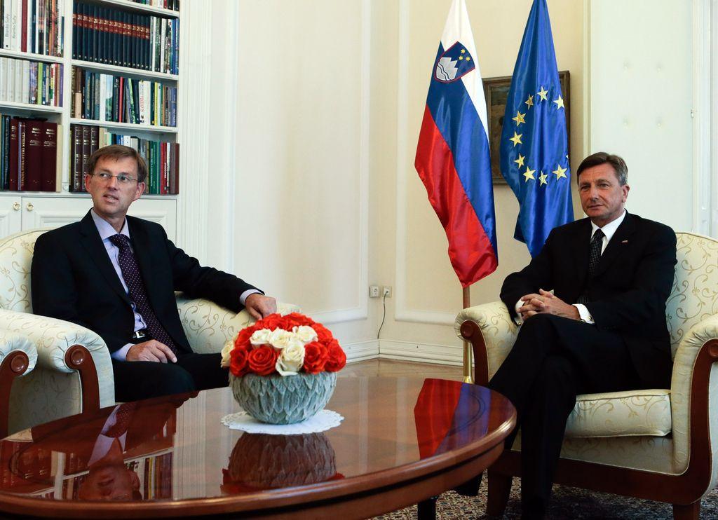 Pahor Cerarja predlagal za mandatarja