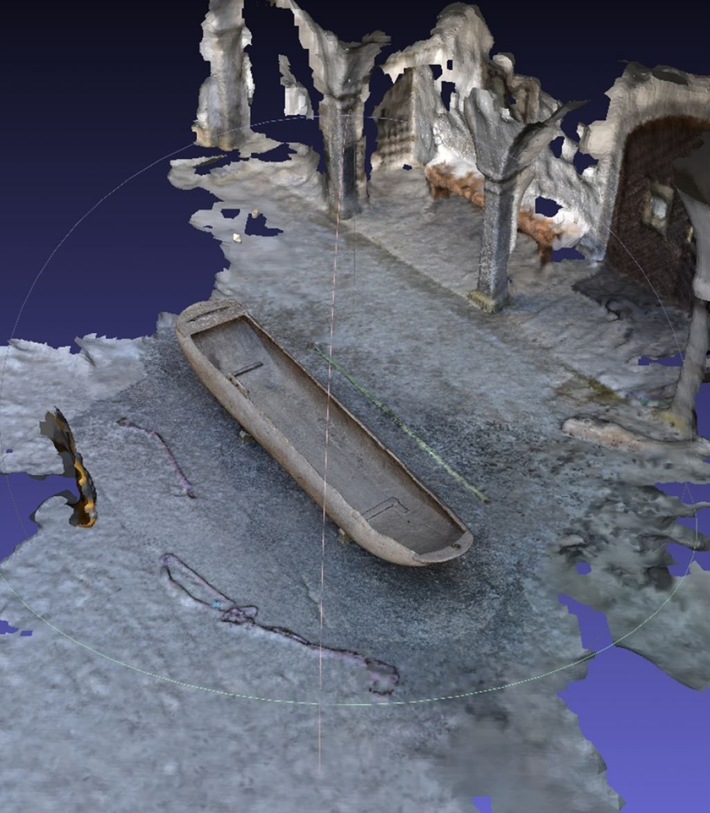 Namesto približne risbe, natančen digitalni 3D-model