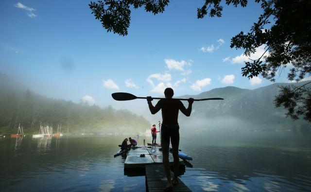 jer-Bohinjsko jezero