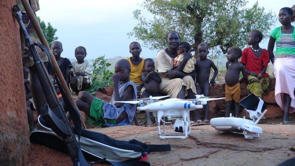 Z droni nad skrito vojno  v Sudanu