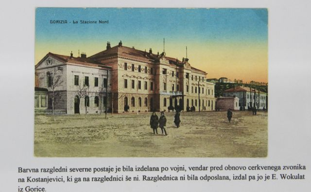 Razstava razglednic Nove Gorice v Goriški knjižnici Franceta Bevka, 11. septembra 2014
