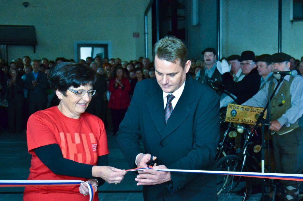 Ipavčev kulturni center odprl vrata