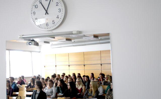 FDV,študenti,predavanje ,Ljubljana Slovenija 09.10.2014