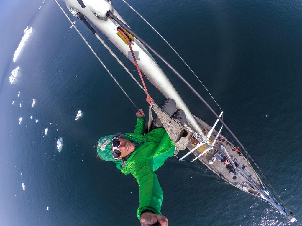 Zaslovela s plezanjem po ledenih kolosih Grenlandije