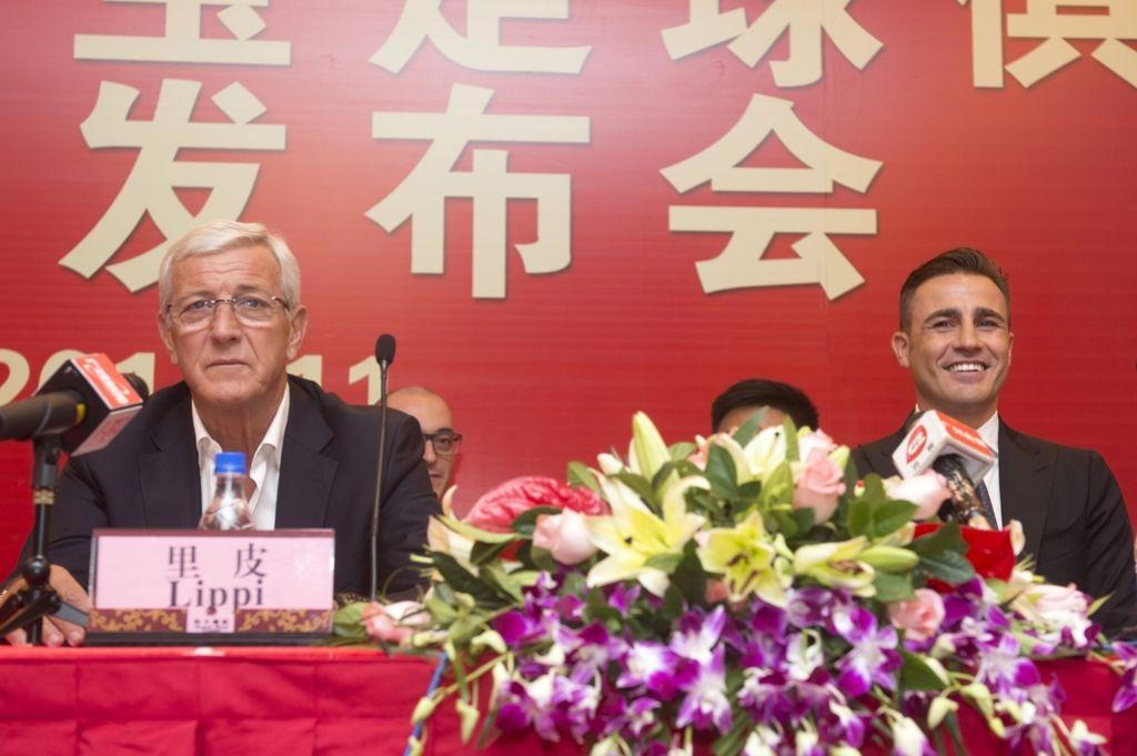 Na kratko: Cannavaro spet na Kitajskem
