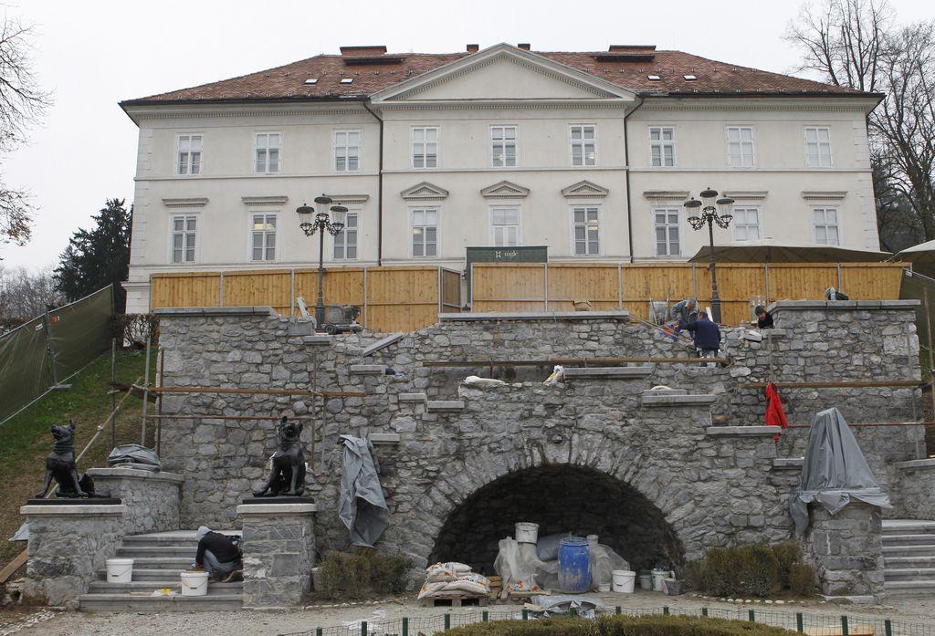 Stopnišče pod gradom Tivoli bo prenovljeno še ta mesec