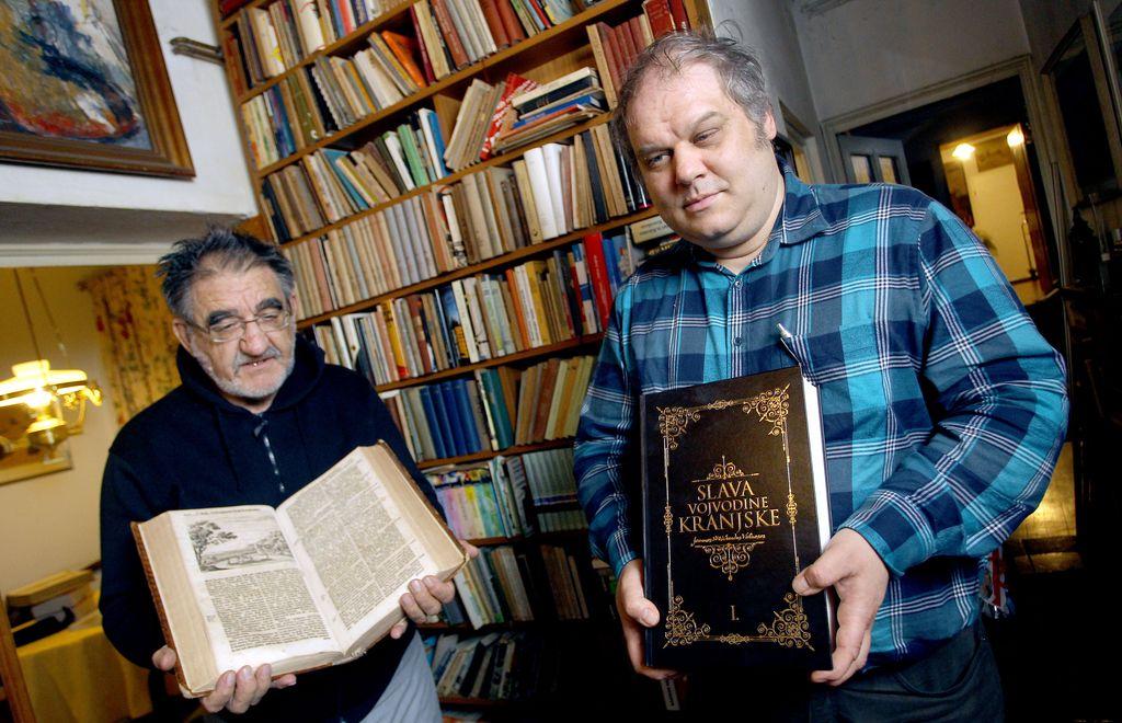 Prevajalci Valvasorja odlikovani za velik podvig