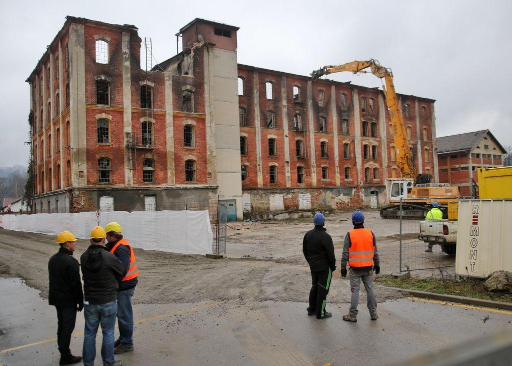 Arhitekti bi Rakuschev mlin podprli, občina pa hiti z rušenjem
