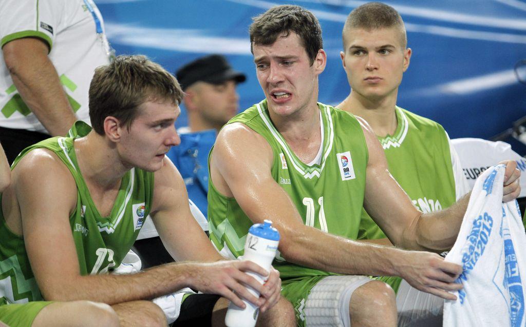 Slovenski košarkarji v kvalifikacije za eurobasket 2017 kot nosilci