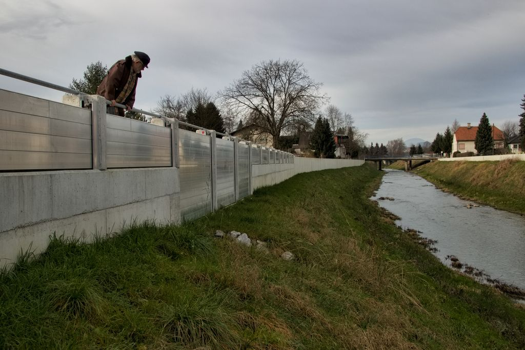 Zaradi zidu Špici grozijo še hujše poplave