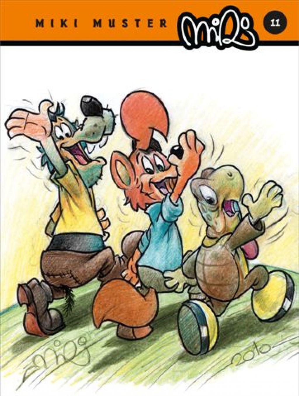 Zvitorepec: strip, ki je povzročil mednarodni incident