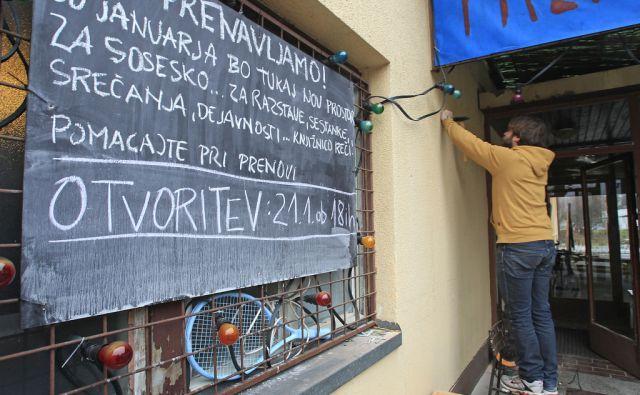 Knjižnica reči v Domu skupnosti v Ljubljani, 20. januarja 2015