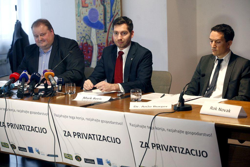 Zagovorniki privatizacije lovijo nasprotnike