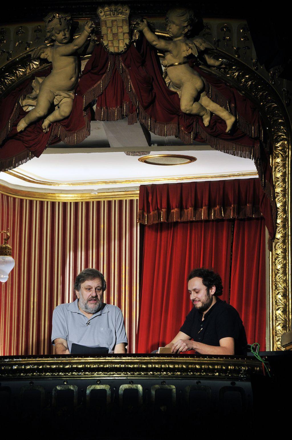 Žižek ponovno v zagrebškem Filozofskem teatru