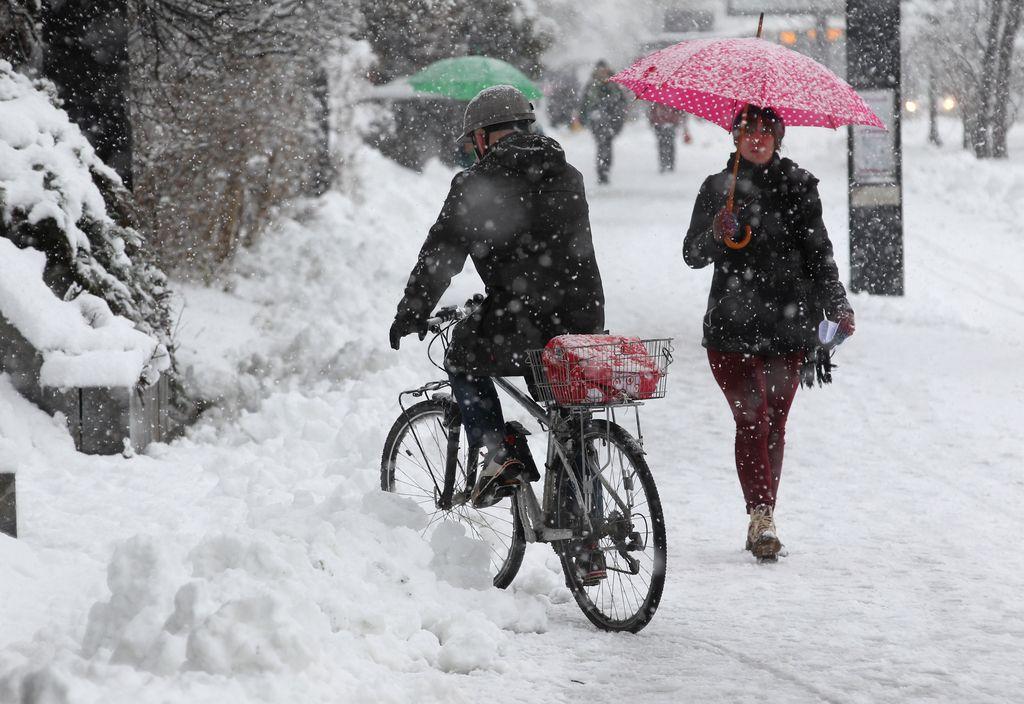 Čiščenje kolesarskih stez se izboljšuje, a počasi