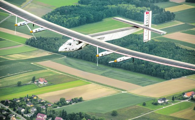 Payerne, Switzerland: Today,Solar Impulse 2, the second single-seater solar aircraft of Bertrand Piccard and André Borschberg designed to take up the challenge of the first round-the-world solar flight, without any fuel in 2015, carried out its first