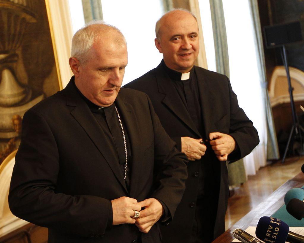 Za novega ljubljanskega pomožnega škofa imenovan Franc Šuštar