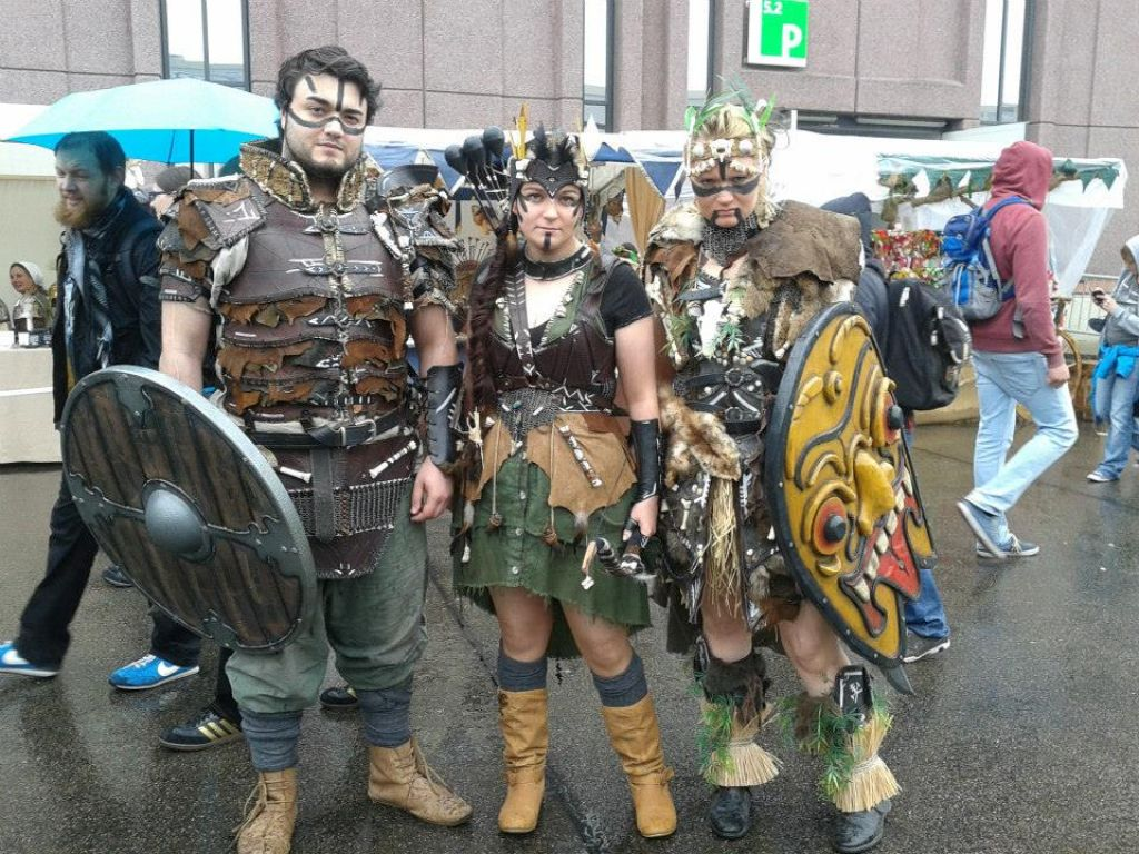 Novice iz Fantazije: Kostumska igra brez gledalcev
