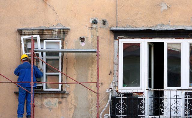 LJUBLJANA SLOVENIJA 16.03.2010 GRADBENISTVO DELAVCI FOTO: ROMAN SIPIC/DELO