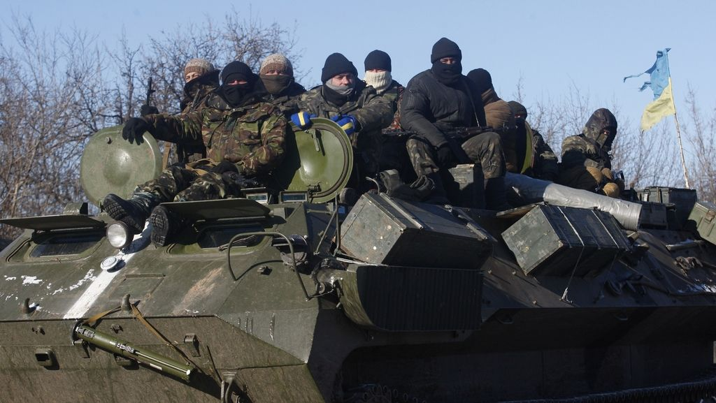 Porošenko: Ukrajinske sile zapuščajo Debalcevo