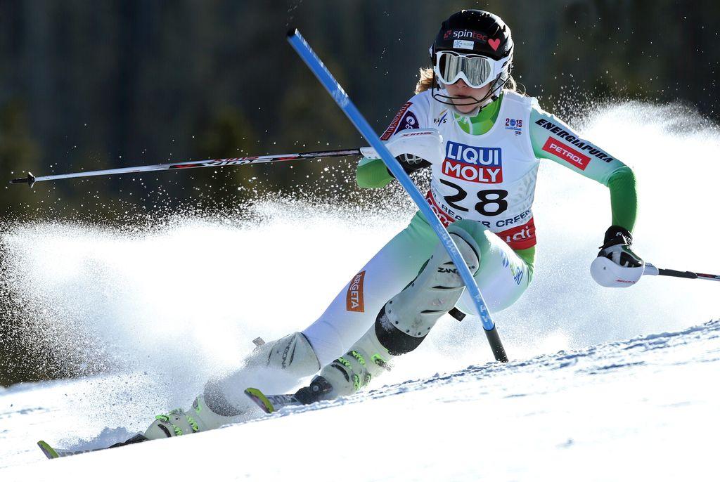 Bucikova in Hadalin državna prvaka v slalomu