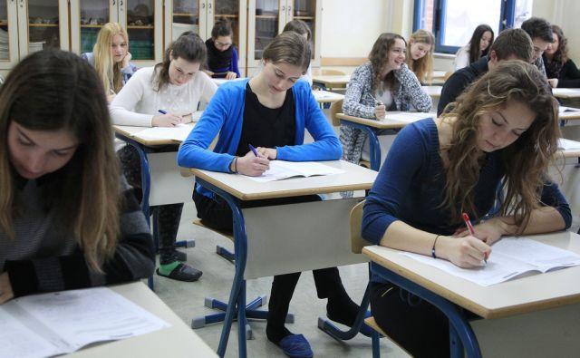Preizkusna matura na gimnaziji Vič v Ljubljani, 2. marca 2015