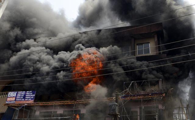 TOPSHOTS-NIGERIA-MARKET-FIRE