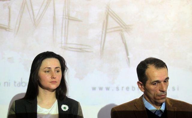 Spominski projekt ob 20.obletnici genocida v Srebrenici - Hasan Hasanović in Almasa Salihović 03.marca 2015