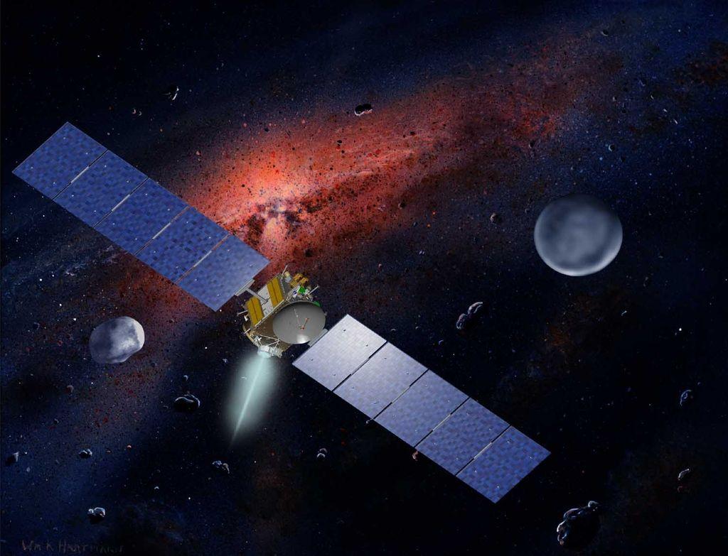 Na obisku pri pritlikavem planetu Cerera