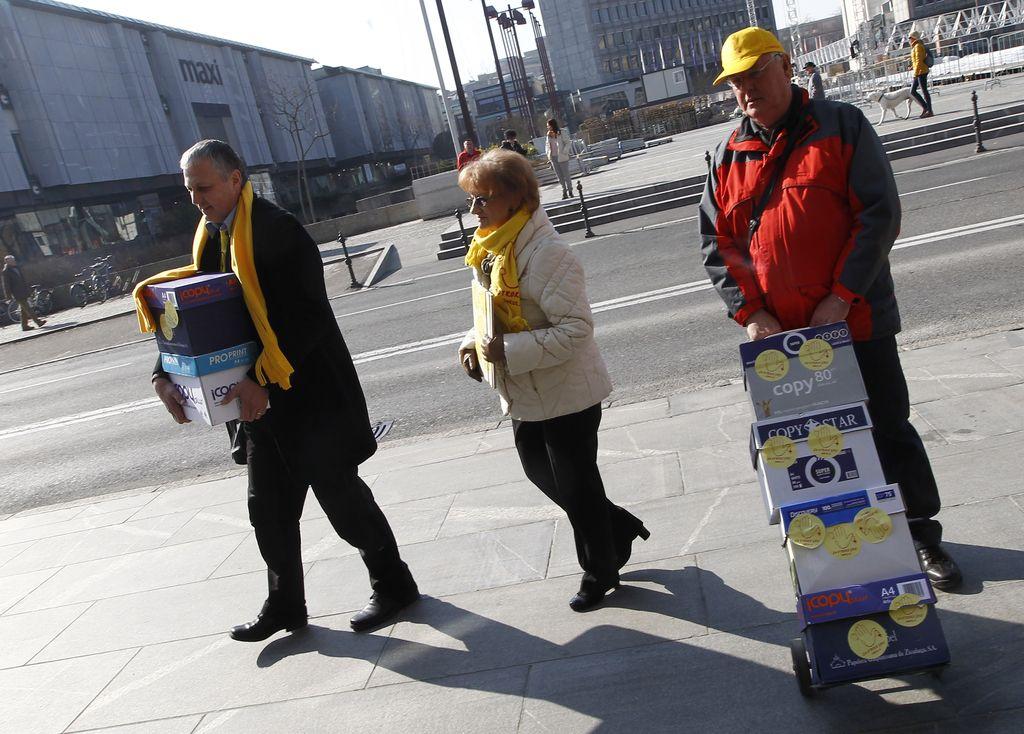 Referendum o zakonski zvezi: podpise bodo zbirali od 23. marca