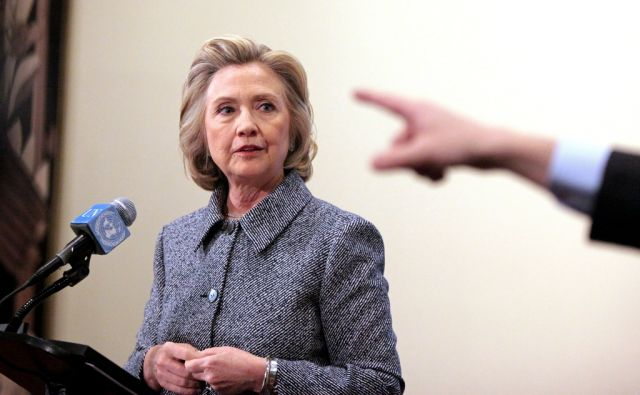 US-HILLARY-CLINTON-HOLDS-PRESS-CONFERENCE-OVER-EMAIL-CONTROVERSY