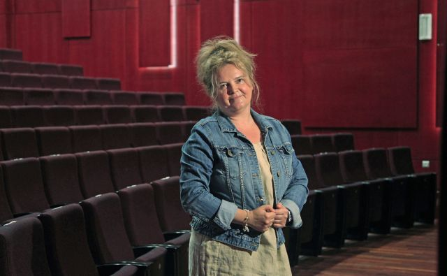 Katja Pegan, direktorica gledališča Koper v Kopru, 12. junija 2014