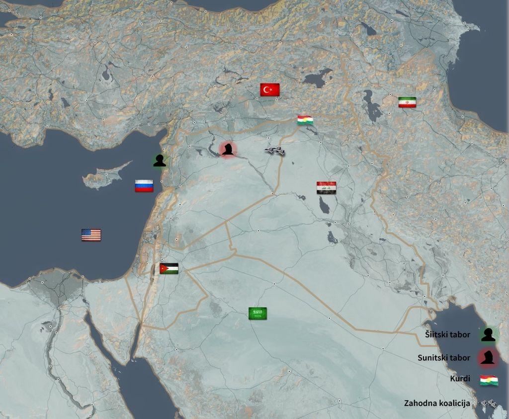 Sirija, človeška tragedija