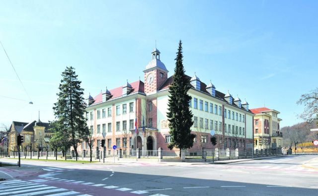 Maks Fabiani  Dekliski licej  Ljubljana