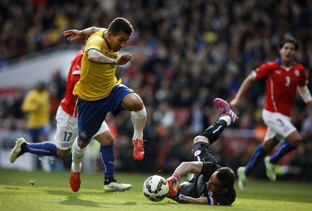 Brazilci so se komajda izvlekli proti Čilu (VIDEO)