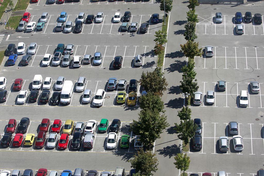 Drago parkiranje na Hrvaškem