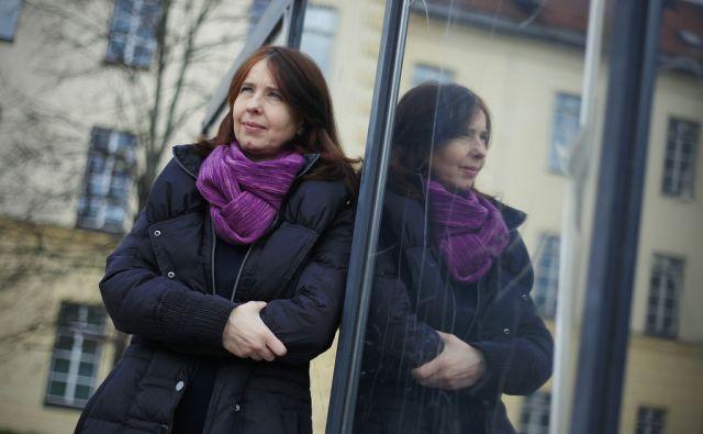 Multimedijska umetnica Mojca Marija Pungerčar v Ljubljani, 31. marca 2015