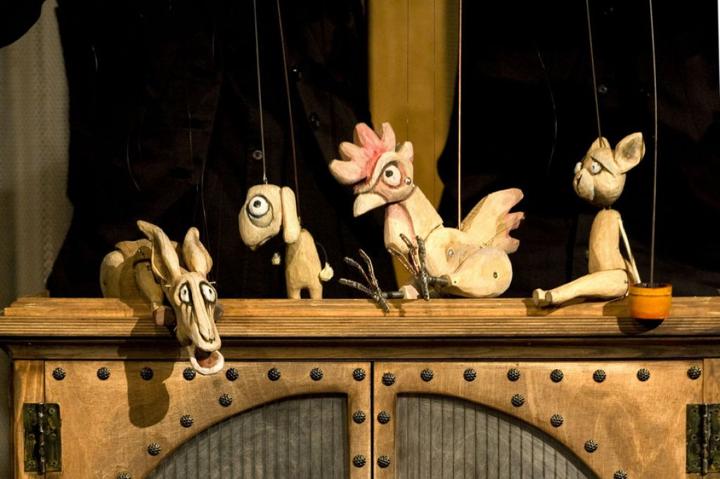 Deloskop izpostavlja: Solcetovi glasbeno-lutkovni Štirje muzikanti