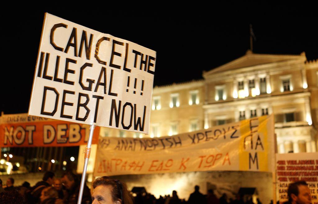 Dolžniška kriza in tabu odpisa dolga